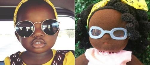 Titi e sua coleção de bonecas negras