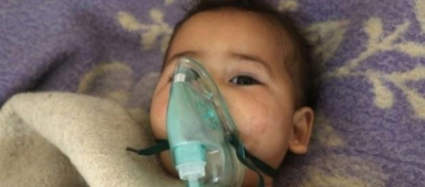 I drammatici effetti sui bambini delle armi chimiche usate in Siria