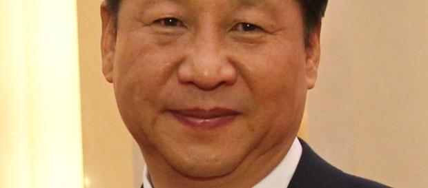 il presidente Xi Jinping in avvicinamento agli Stai Uniti