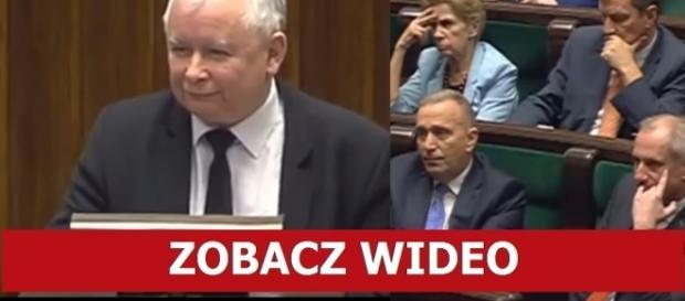 Jarosław Kaczyński kontra Grzegorz Schetyna.