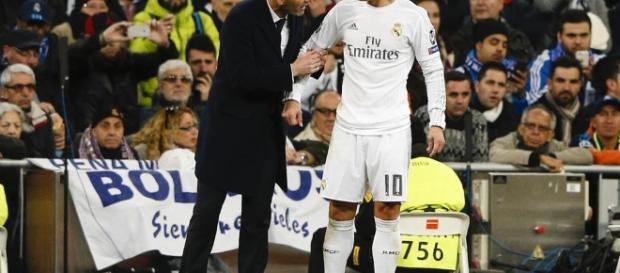 Real Madrid: James Rodriguez dérape une fois de plus