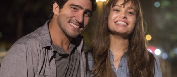 Renato Góes e Sophie Charlotte