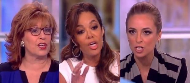 """""""The View"""" on Donald Trump and Syria, via YouTube"""