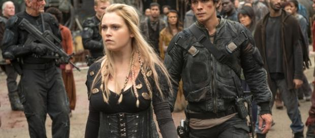 When is new 'The 100' season 4 on TV screens? [Image via the CW]