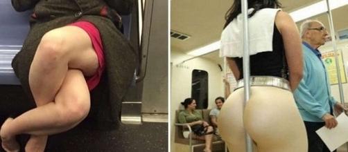 Coisas estranhas que acontecem no Metrô.