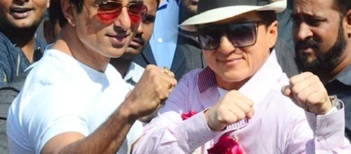 Jackie Chan visits India for Kung Fu Yoga   Lehren.com - lehren.com BN support