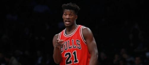 Jimmy Butler and Chicago visit Brooklyn in Saturday's NBA action. [Image via Blasting News image library/inquisitr.com]