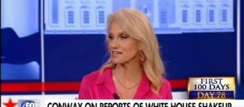 Kellyanne Conway on White House shake-up, via YouTube