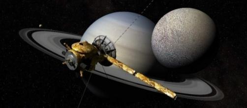 La nave Cassini se prepara para la inmersión en la atmósfera de Saturno
