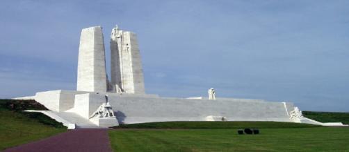 Le memorial de la bataille de Vimy en septembre 2010