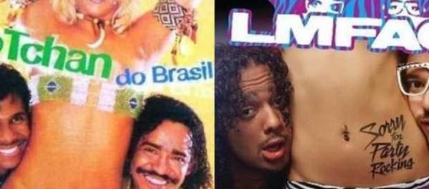 Confira estas 15 imagens que comprovam que o brasileiro é inspiração para muitos estrangeiros no mundo.