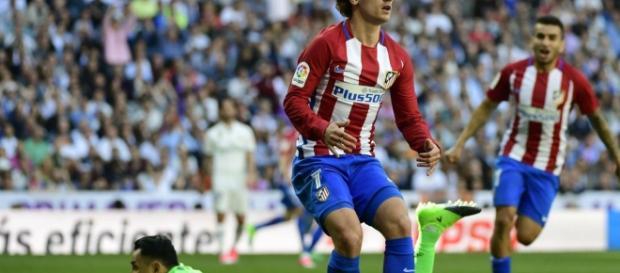 Fue el tercer gol de Griezmann ante el Madrid, vistiendo la camiseta del Atlético