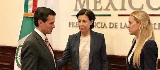 Presidente de México recibió a Lilian Tintori para hablar sobre ... - com.ve