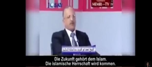 Quelle: Youtube - Die islamische Herrschaft wird kommen