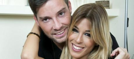 Oriana Marzoli y Luis, felices en España.