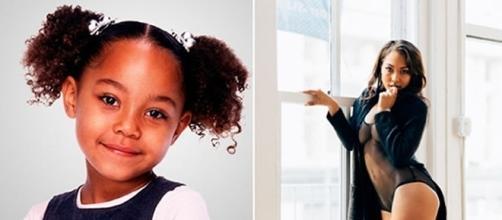 Antes e depois de alguns atores mirins