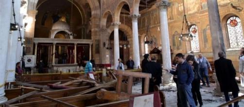 Attentato Isis chiesa cristiana in Egitto