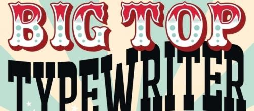 Big Top Typewriter by David Lewis Hammarstrom