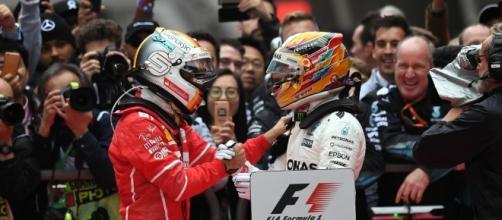 Hamilton vince gp di Cina, secondo Vettel