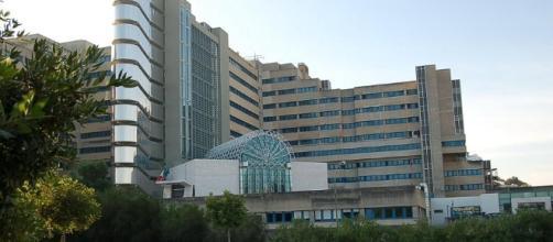 L'ospedale Brotzu della città di Cagliari