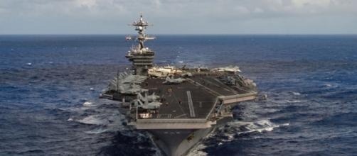 PACOM chief orders Carl Vinson strike group to move toward Korean ... - stripes.com