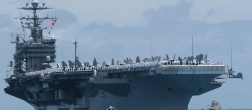 Portaerei nucleare USA arrivata nei pressi delle coste della Corea ... - sputniknews.com
