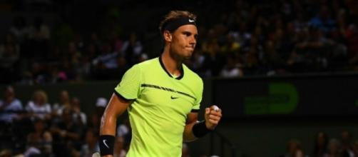 Rafael Nadal clinching his fist..sports - metromirror.com