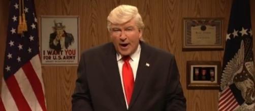 SNL on Donald Trump, via Twitter