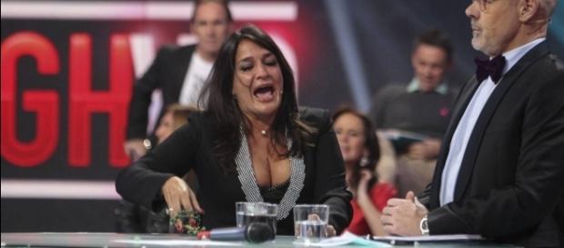 Aída Nízar está muy enfadada con Nacho Montes