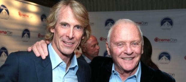 "Anthony Hopkins says Michael Bay is a ""genius"" - digitalspy.com"