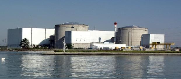 La centrale nucléaire de Fessenheim le 15 septembre 2012