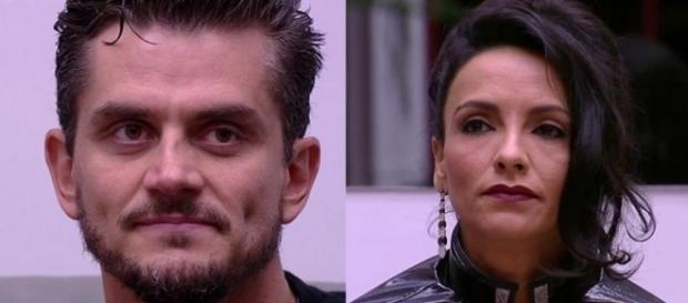 Marcos e Marinalva disputam o Paredão e enquete mostra possível resultado (Foto: Reprodução)