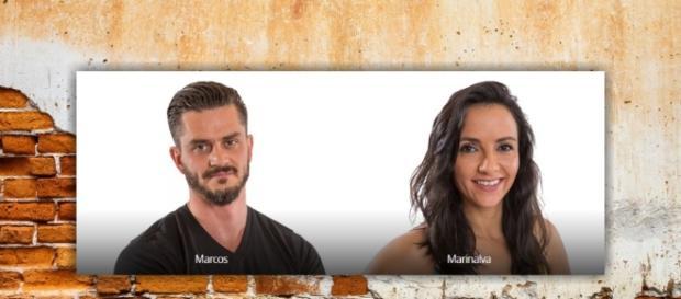 Na noite deste domingo (09), Marcos e Marinalva saberão qual dos dois terá que deixar o BBB17