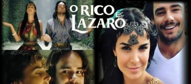 'O Rico e Lázaro': o amor de Joaquim e Edissa enfrentará a rainha Neusta