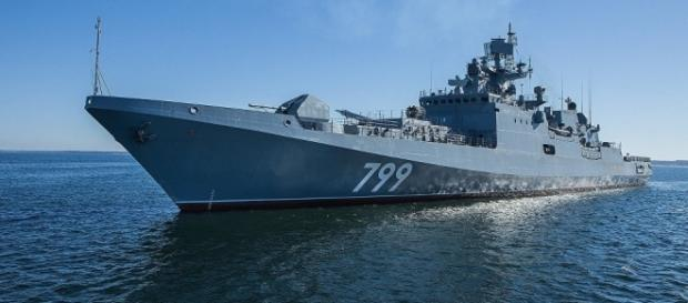 Russia to Resume 3rd Admiral Grigorovich-Class Frigate Trials / Photo by sputniknews.com via Blasting News library