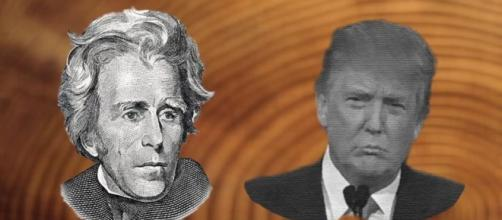 Donald Trump and Andrew Jackson - The Raven Foundation - ravenfoundation.org