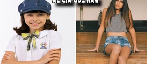 Fernanda Concon. Ela interpretava a personagem Alícia Gusman
