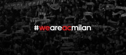 Foto presa dal profilo Fb ufficiale del Milan