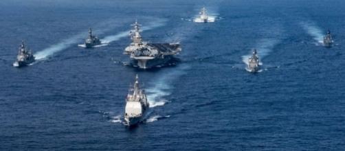 Le forzze armate statunitensi sono al largo delle coste di Pyongyang. Oggi anche l'Australia conferma supporto ad USA.