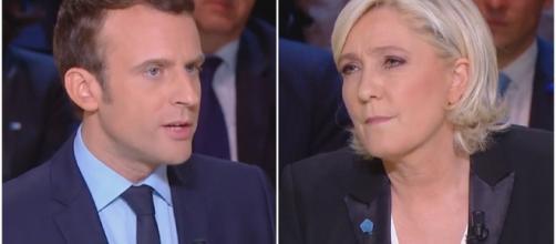 Le Grand Débat : Marine Le Pen critique Emmanuel Macron