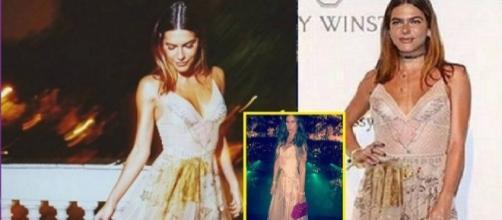 Modelo se revolta ao encontrar Mariana Goldfarb com vestido igual em baile