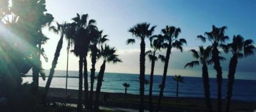 Scenic beaches of Malaga City in Spain (picture via Facebook - Peony Hirwani)