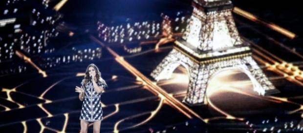 Alma lors des répétitions de l'Eurovision (Photo Thomas Hanses/EBU)