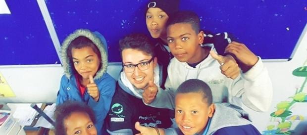 Les enfants de la banlieue du Cap