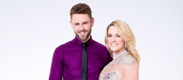"Nick Viall & Peta Murgatroyd eliminated from ""Dancing with the Stars"" - Photo: Blasting News Library - usmagazine.com"
