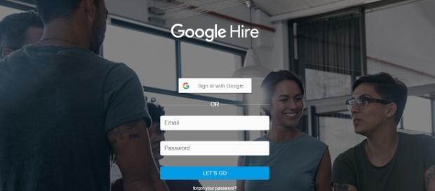 O site da Google Hire já se encontra disponível.