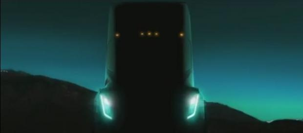 Tesla's electric semi truck, Youtube, Inverse channel https://www.youtube.com/watch?v=GPaYrhUZSYQ