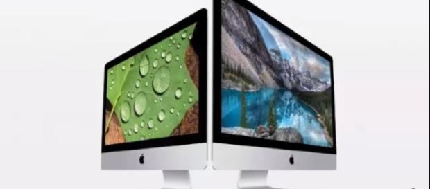 The upcoming iMac 2017 will be available in two versions. / Photo via Gadget News & Review, YouTube screenshot