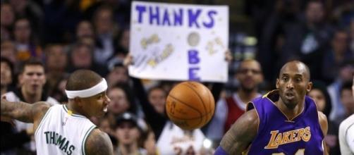 Celtics' Isaiah Thomas getting help from Kobe Bryant | Depend On ... - wokv.com