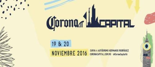 Corona Capital 2016, cartel e información oficial - Bizarro FM - bizarro.fm